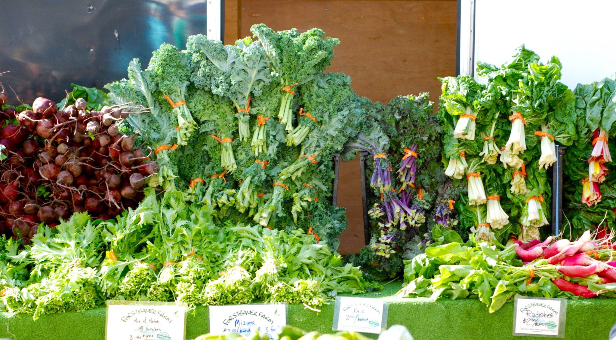 organic, produce, vegetables, fresh, local, farmers market, east van, trout lake