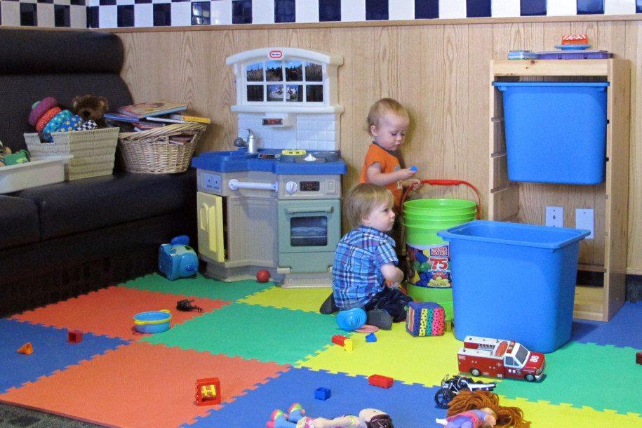 Vancouver restaurant De Dutch Pannekoek House features a children's play area