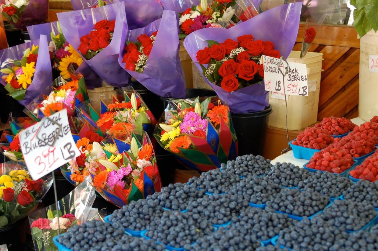 South Van Produce grocery store mom & pop produce Denman St
