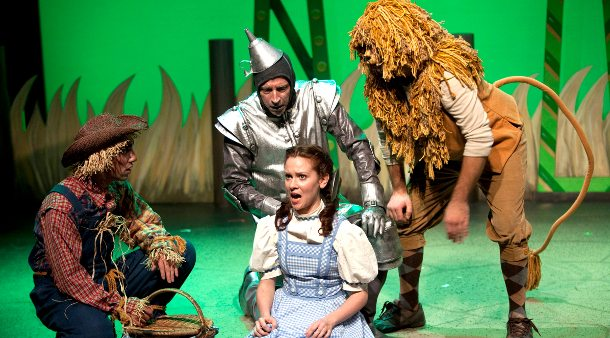 Dorothy in The Wizard of Oz at Carousel Theatre