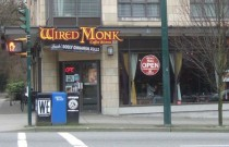 Vancouver Restaurant: The Wired Monk in Kitsilano