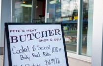 Vancouver Restaurant: Pete's Meat Butcher Shop and Deli