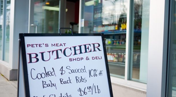 Deli, Sandwiches, Local Butcher