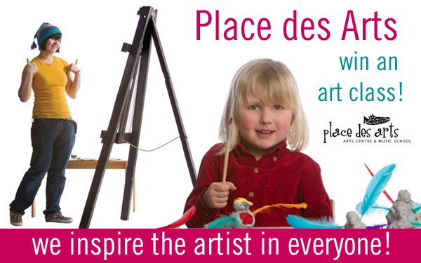 Back to School Giveaway Place des Arts