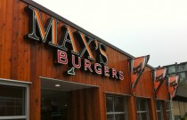 Where to Eat in Vancouver: Max's Burgers