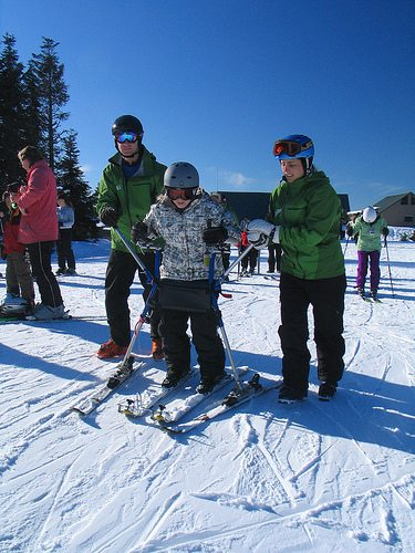 skiing and snowboarding sit-skiing vancouver adaptive snow sports