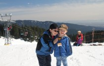Momma and Papa Bears: Skiing Lessons at Mount Seymour
