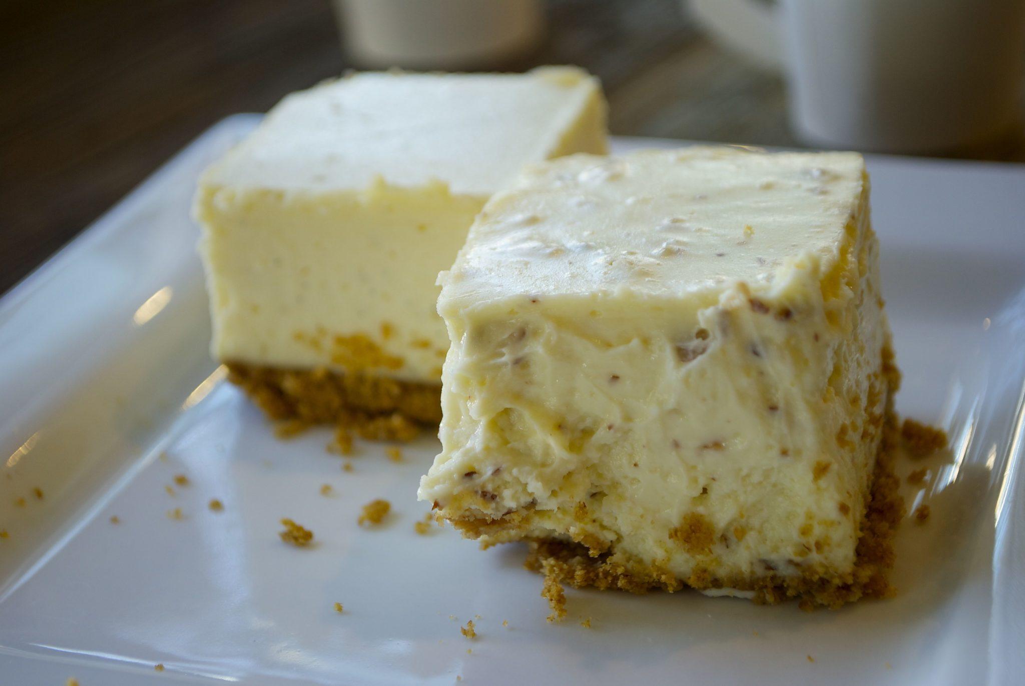 Tasting Plates YVR: Trees Organic cheesecake