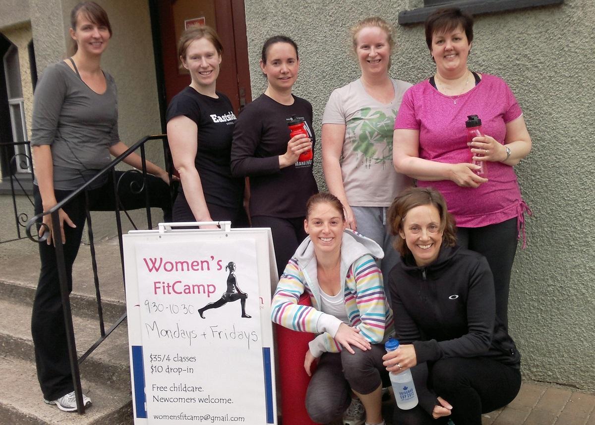 fitness classes women's fitcamp sierra dante