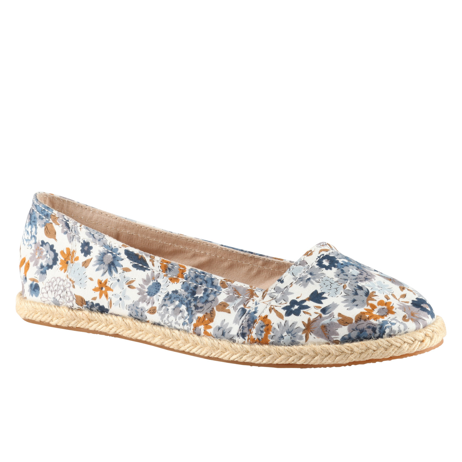 summer fashion floral shoes