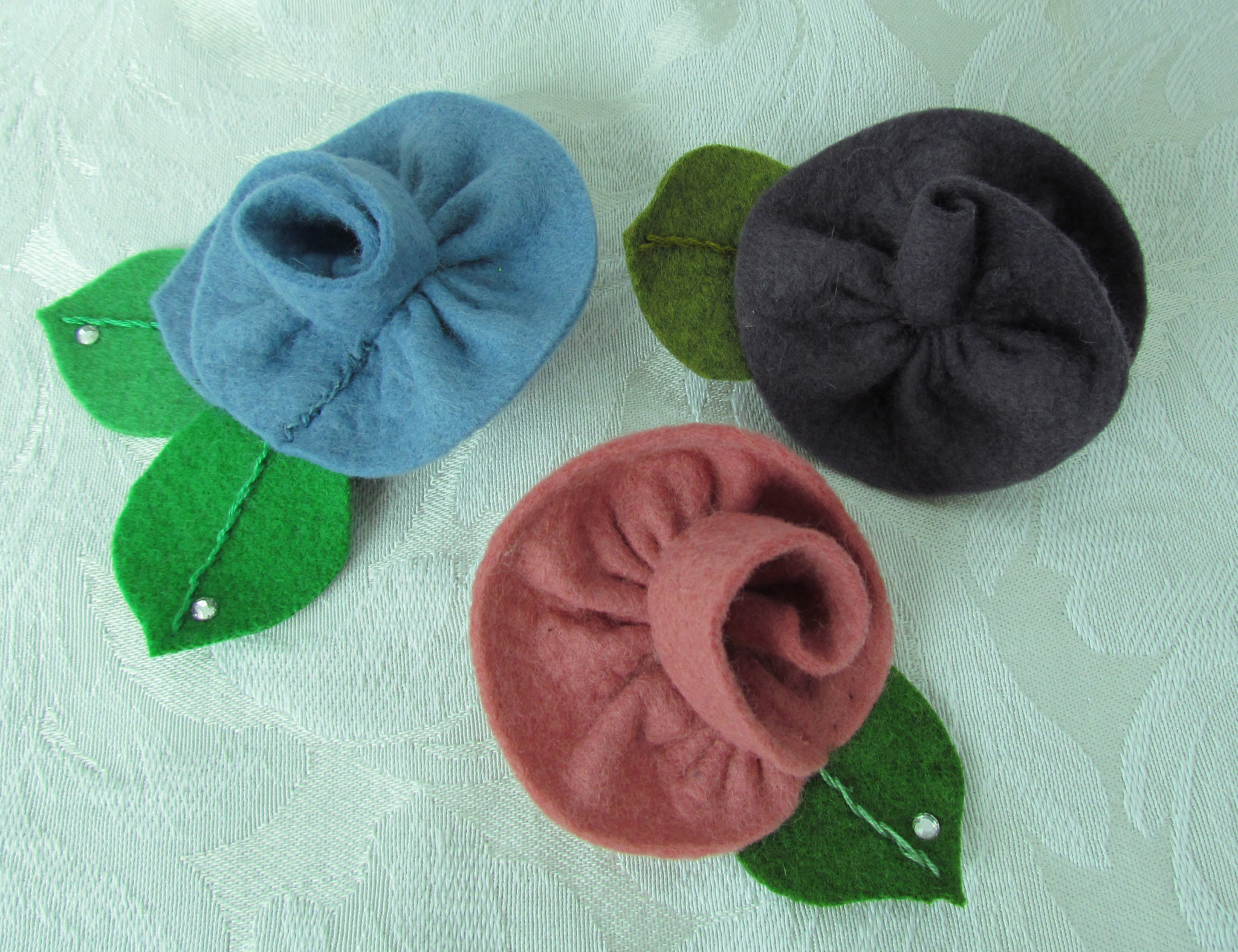 feltedflowerpins-Berladyn_press