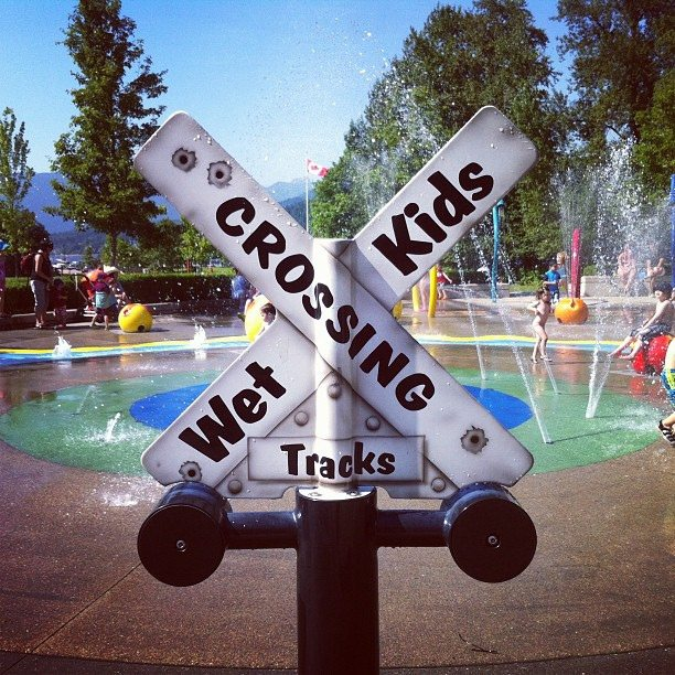 summer in vancouver spray parks