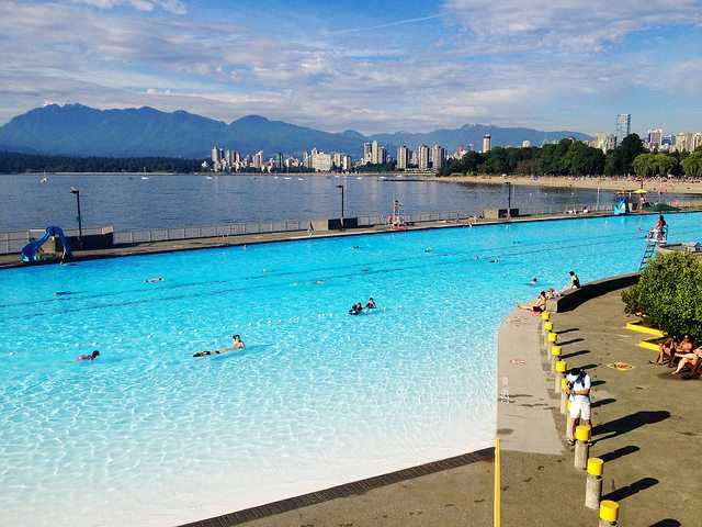 Where To Swim In Vancouver Five Urban Pools Vancouver Mom