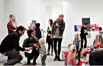 Family Fuse at the Vancouver Art Gallery