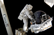 Canadian Spacewalkers: Take a Walk on the Space Side