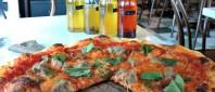 Neapolitan-style pizza at Bufala, Vancouver