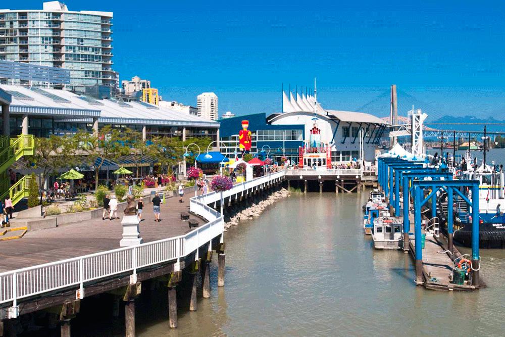 New Westminster boardwalk, image courtesy River Market