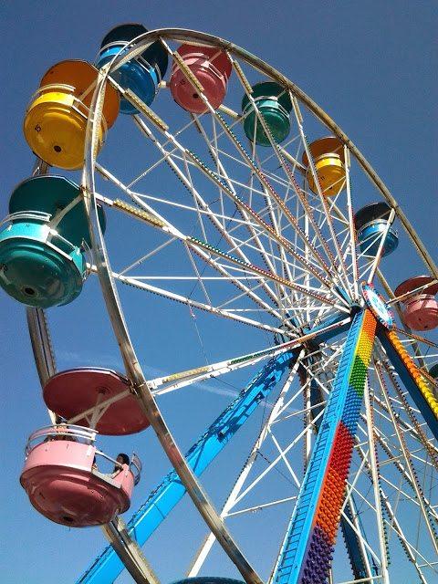pne playland ferris wheel