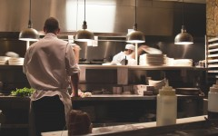 kitchen working cr Michael Browning via Unsplash