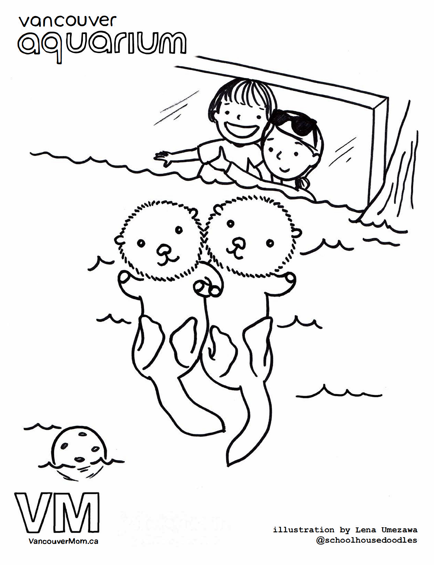 Summer Holidays Colouring Pages for Kids | 1798x1382